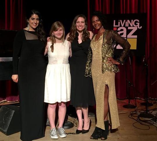 (from left to right) Shana Dinha, Katie Williams, Ren Geisick & Takiyah Franklin