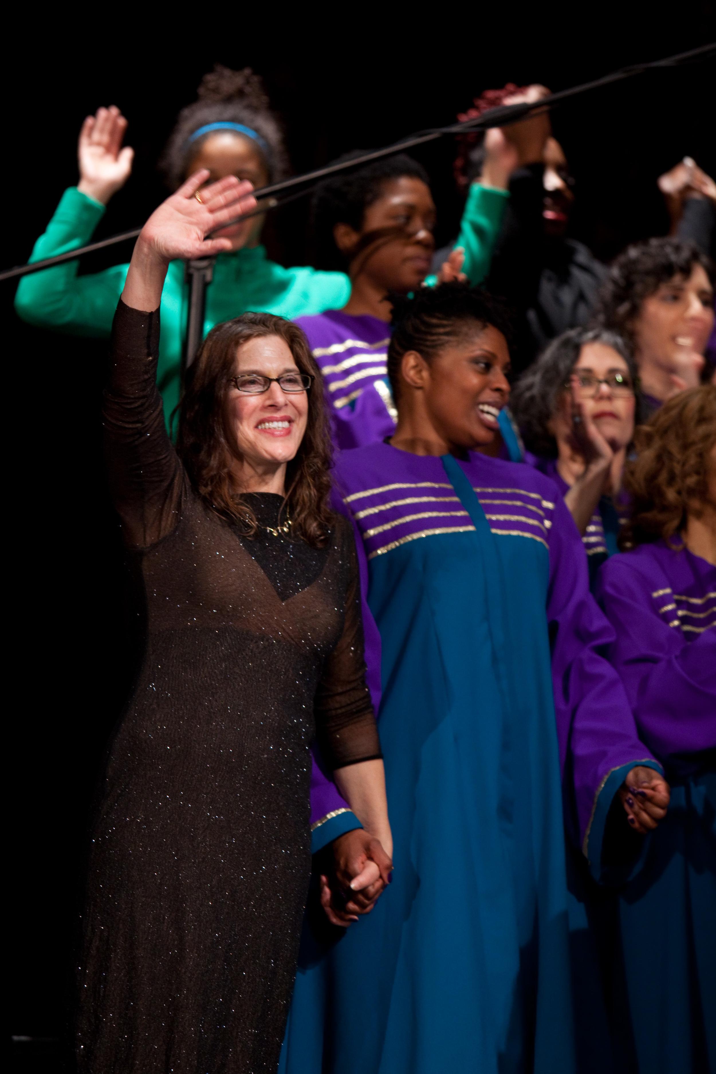 Stacey Hoffman & Oakland Interfaith Gospel Choir