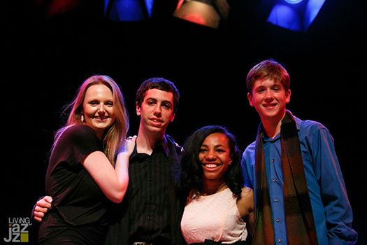 (from left to right) Gabriela Welch, Dillon Vado, Leah Dobson & Joshua Tazman