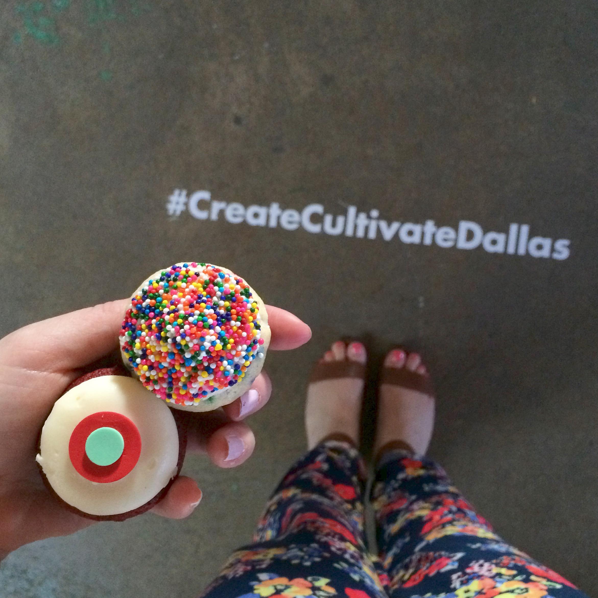 Cupcake break = best kind of break.