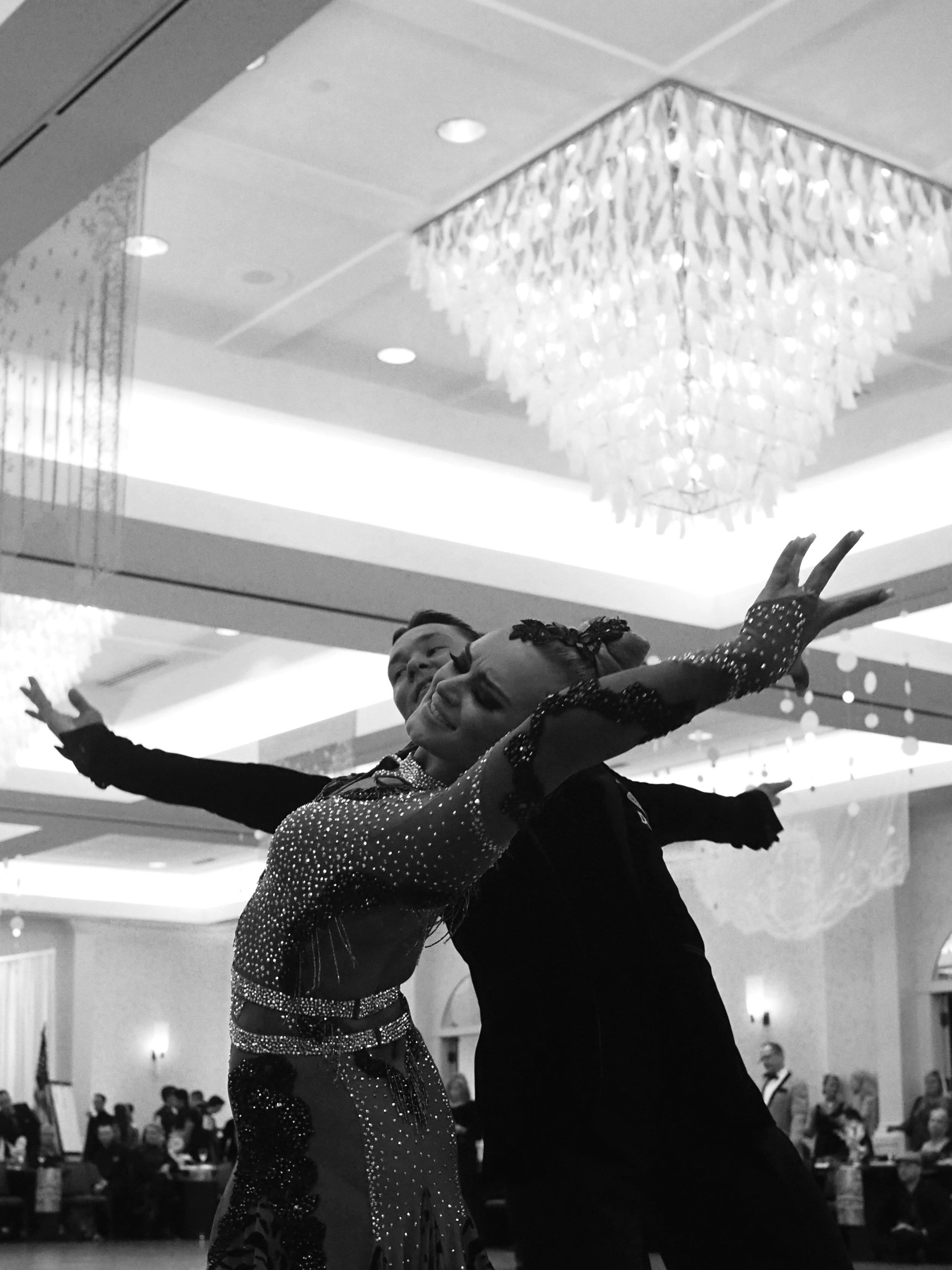 Ballroom Competition. Minneapolis, MN.