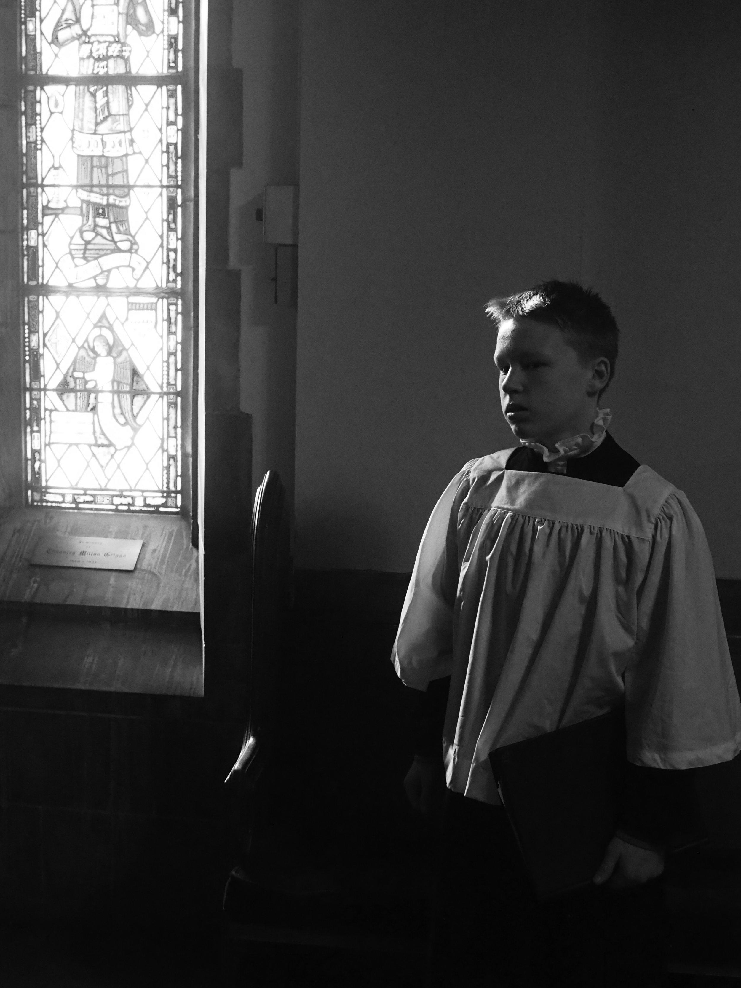 Chorister. Saint Paul, MN.