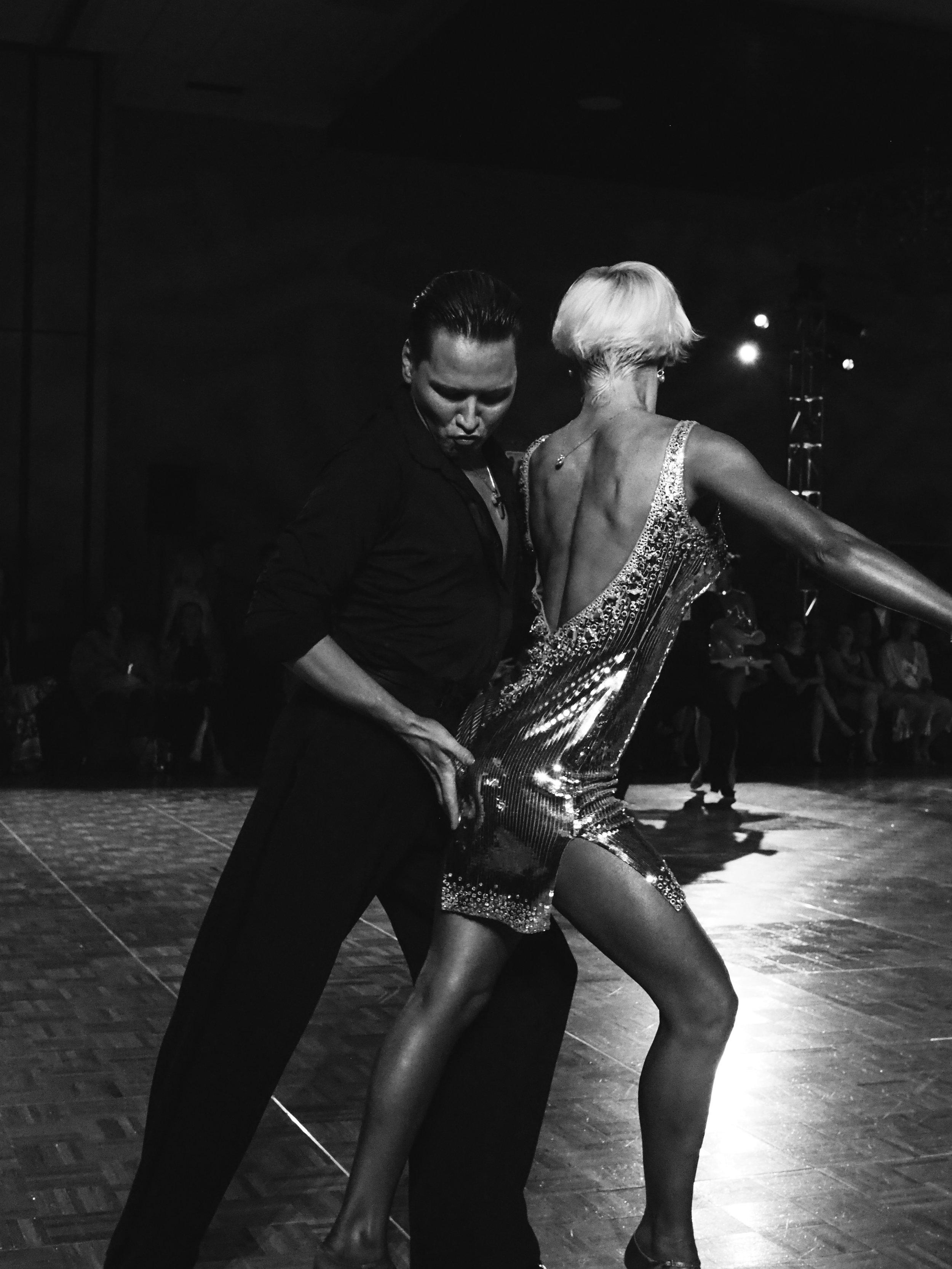 Ballroom competition. Minneapolis, MN. 2018.