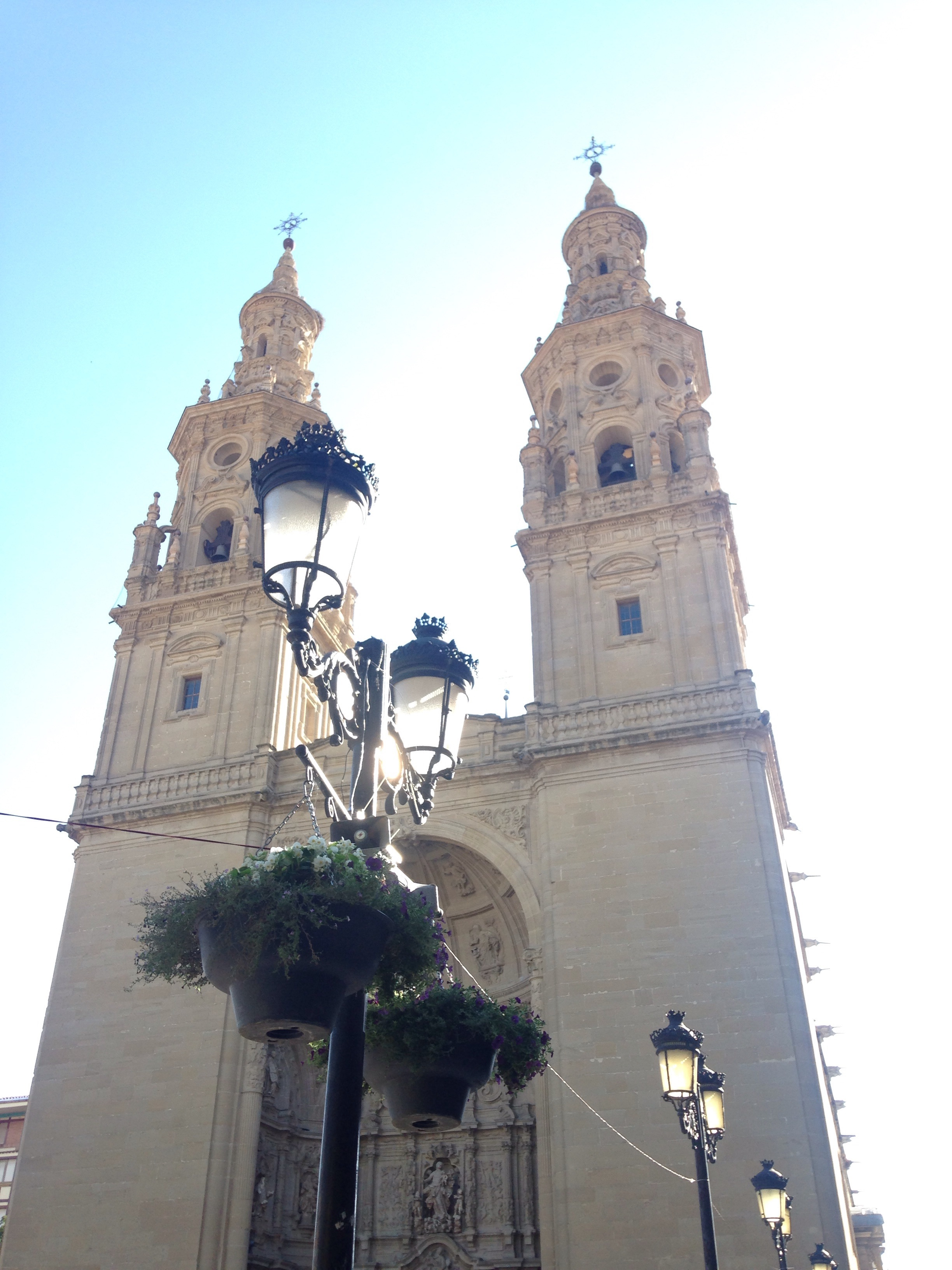 Logrono's beautiful cathedral