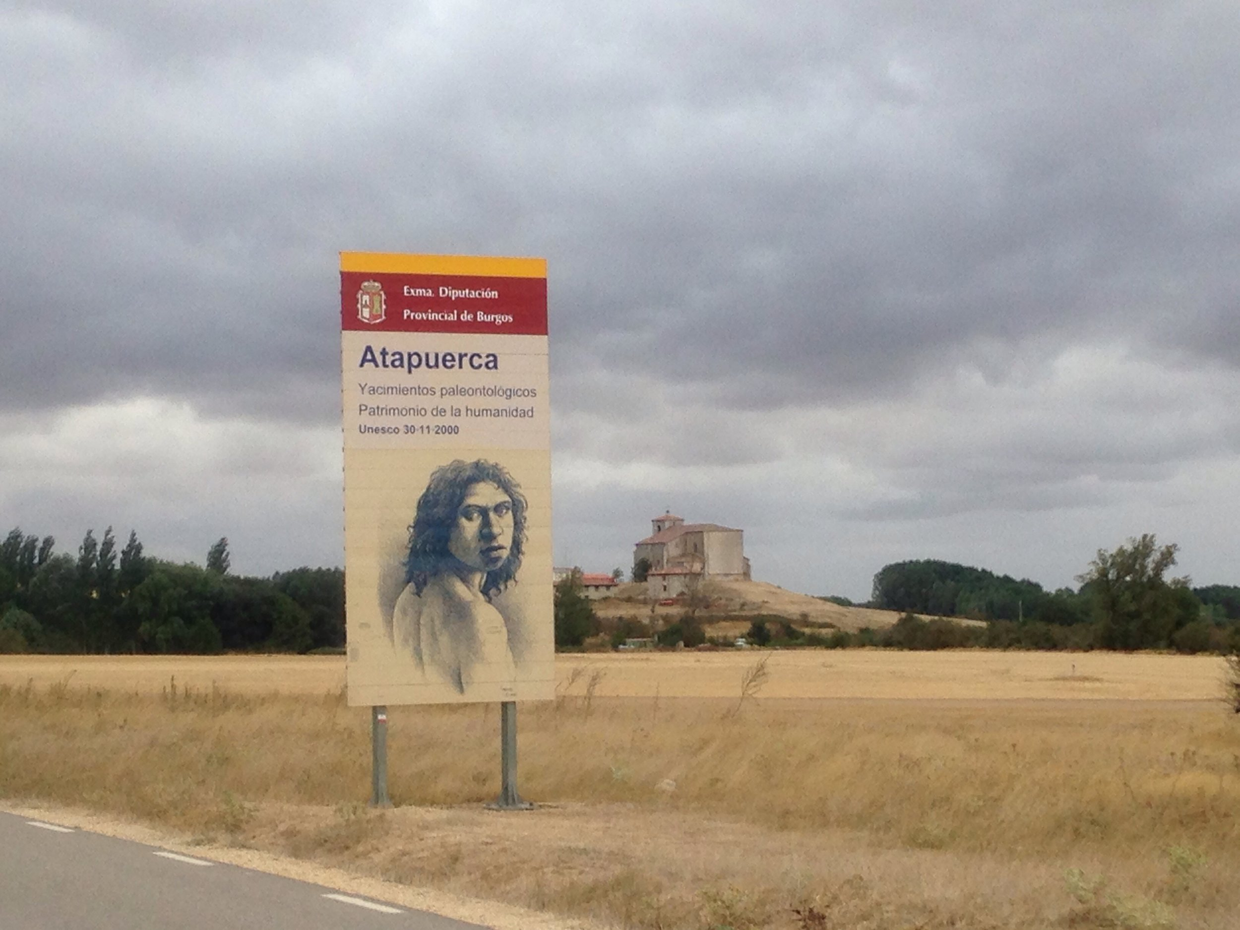 Atapuerca, where the earliest human remains in Europe were discovered