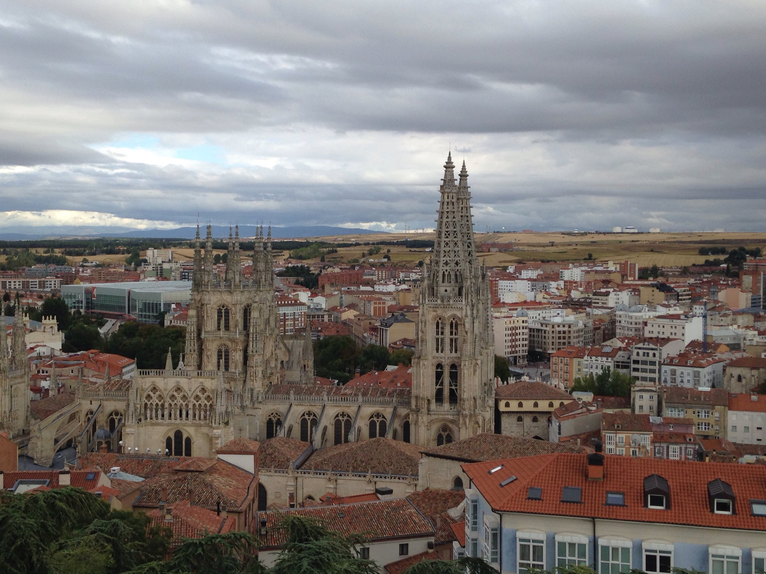The beautiful Burgos cathedral