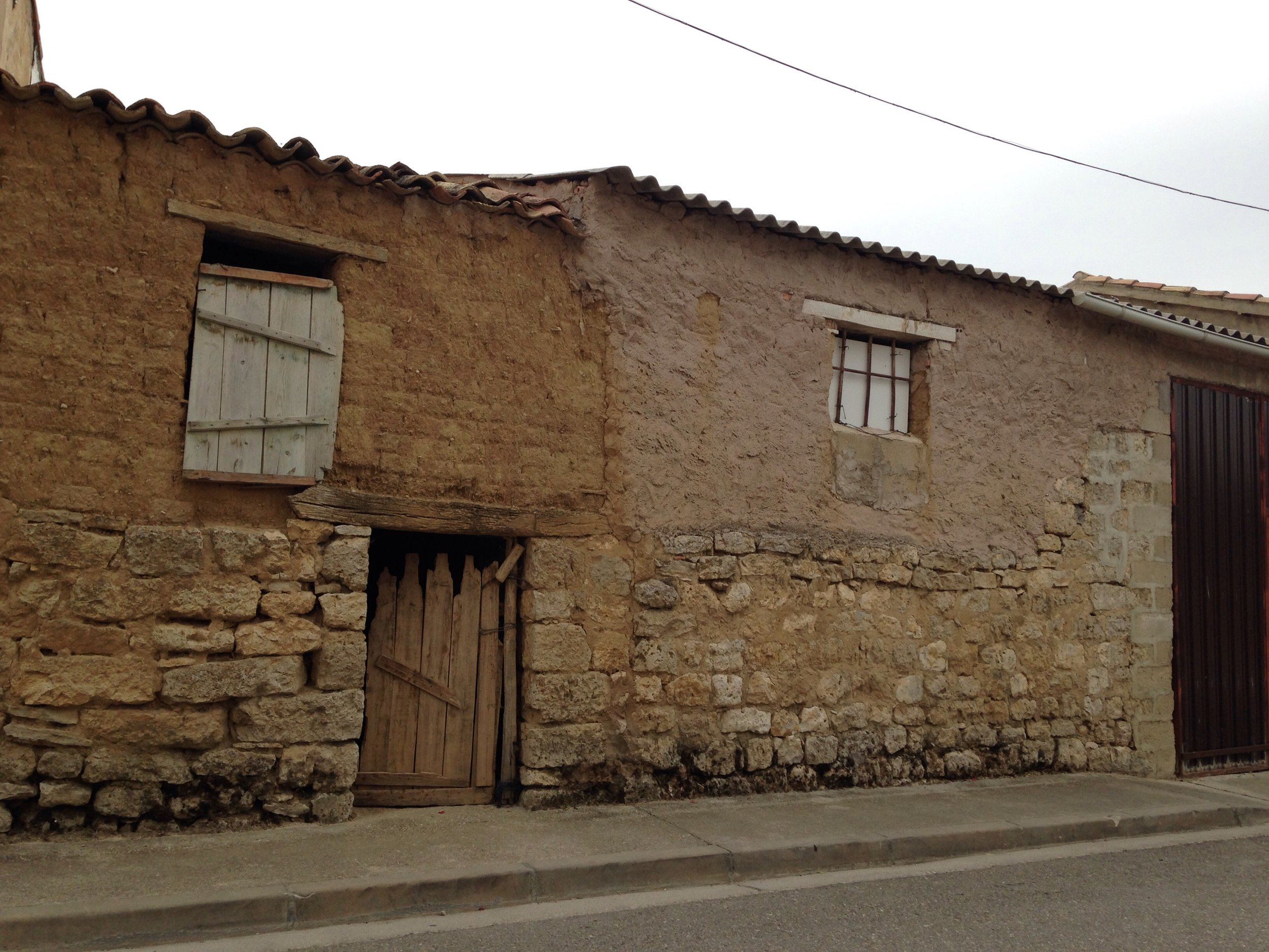 small medieval town Hornillos