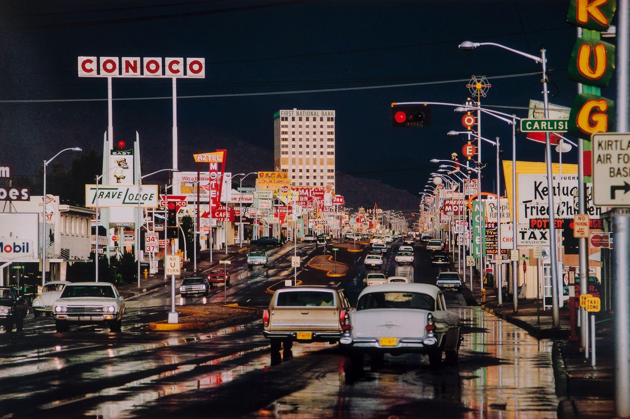 Route 66, Albuquerque, New Mexico, USA , 1969  Ernst Haas
