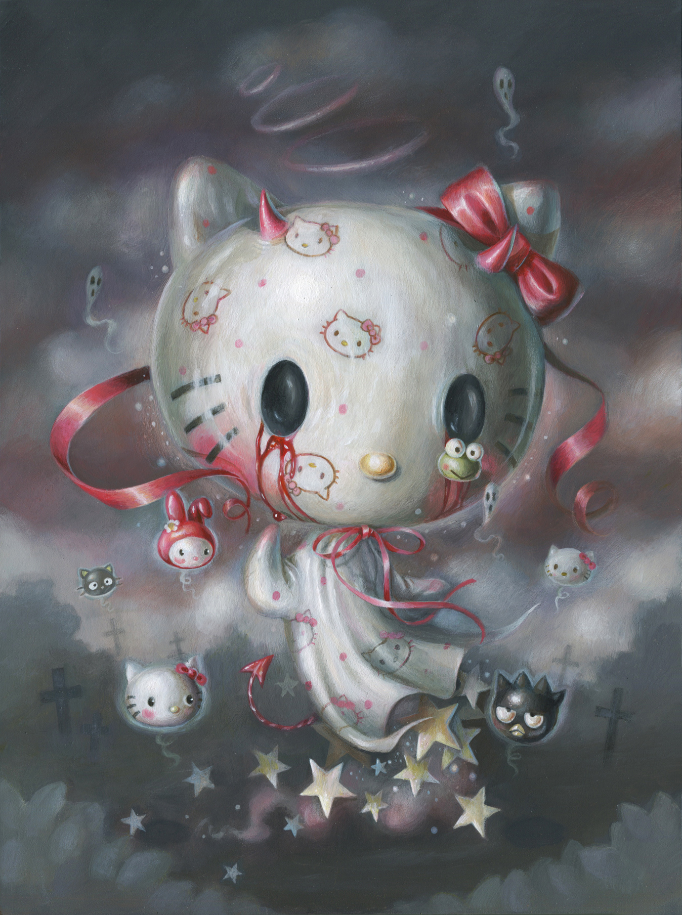"""Ghost of Hello Kitty"""