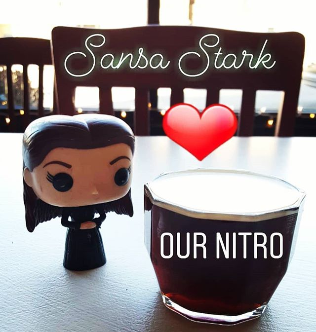 Winter is here, but so is our nitro, so everything's going to be all right.
