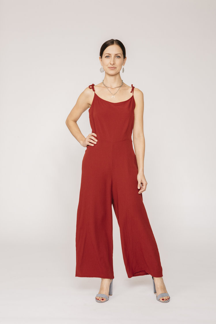 AU+&+Co.+Margaret+jumper+red+jumpsuit+wide+leg+vintage+style+.jpg