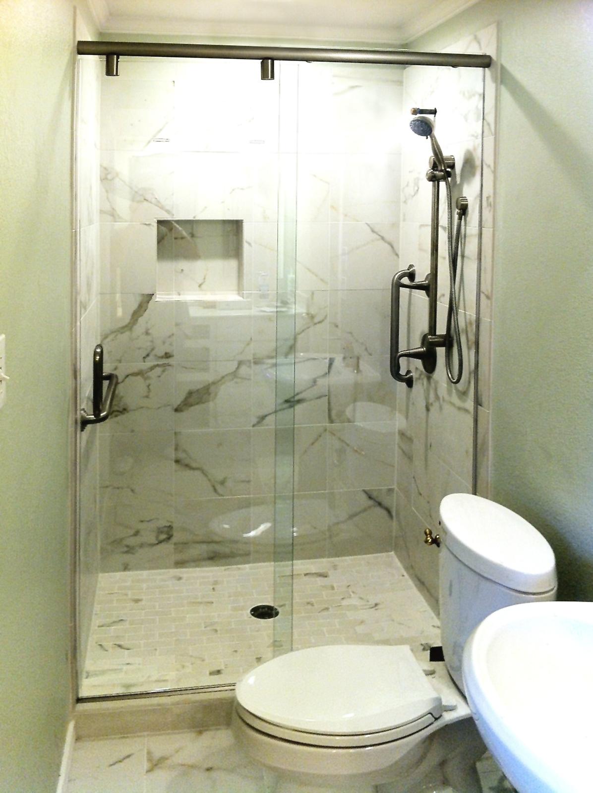Sliding Shower Doors - Custom Hydroslide