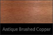 Antique Brushed Copper