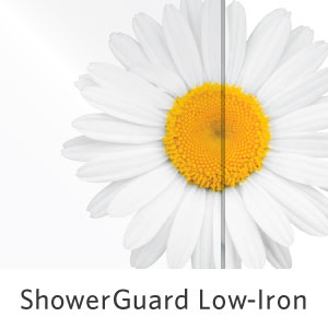 ShowerGuard Low Iron Glass