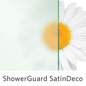 ShowerGuard Satin Deco Glass