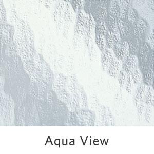 Aqua View Pattern Glass