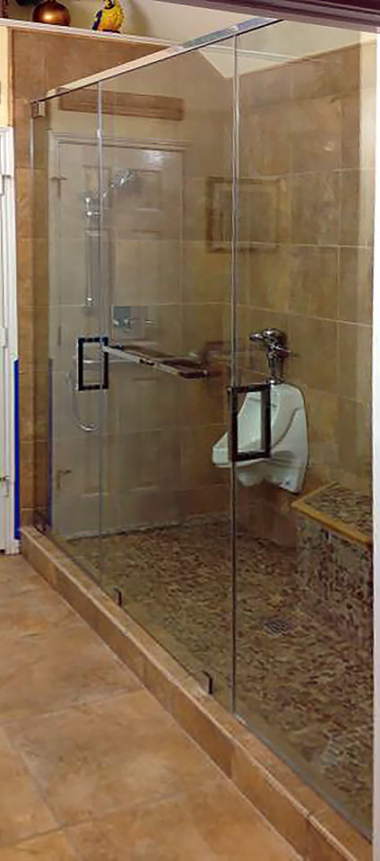 Inline Shower Door and Panels