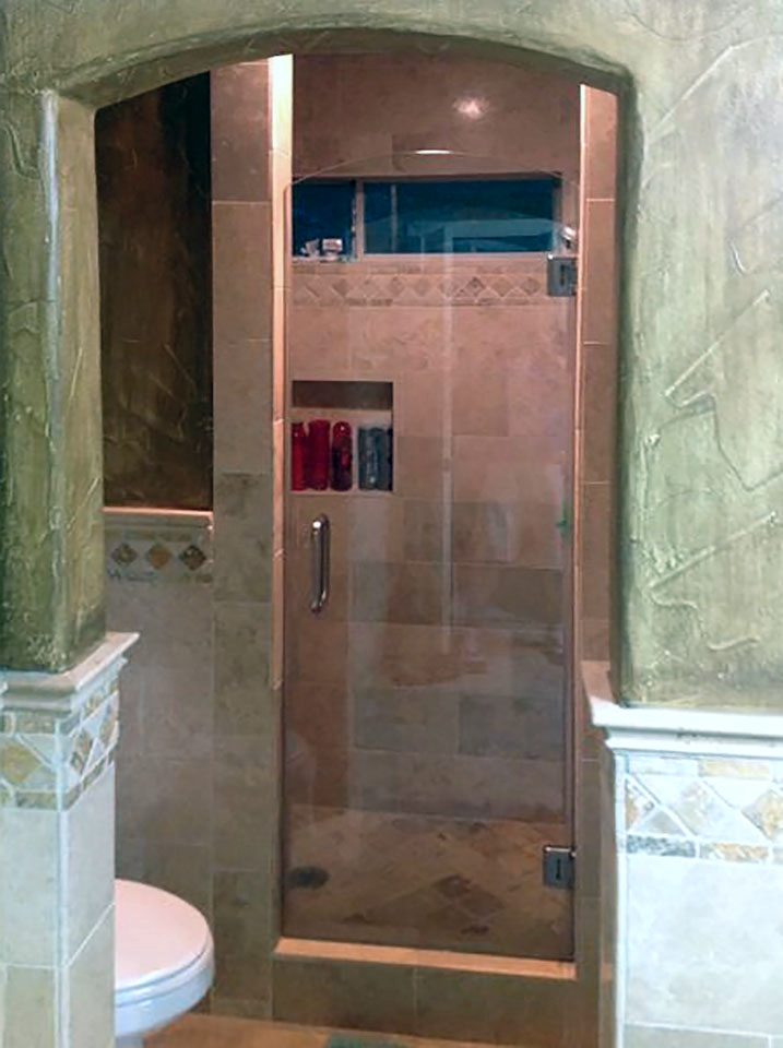 Arched Shower Door Glass