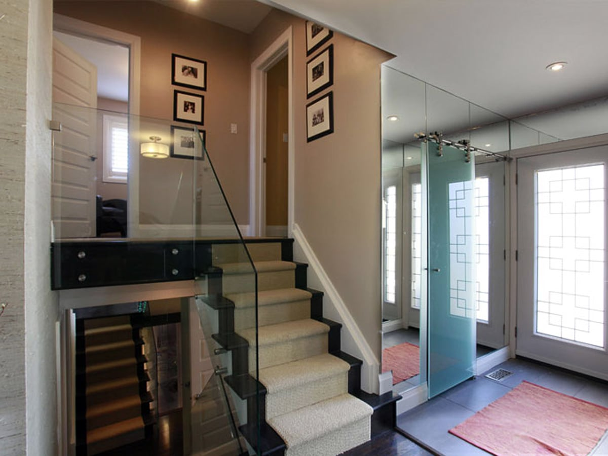 Custom Glass Stair Rails