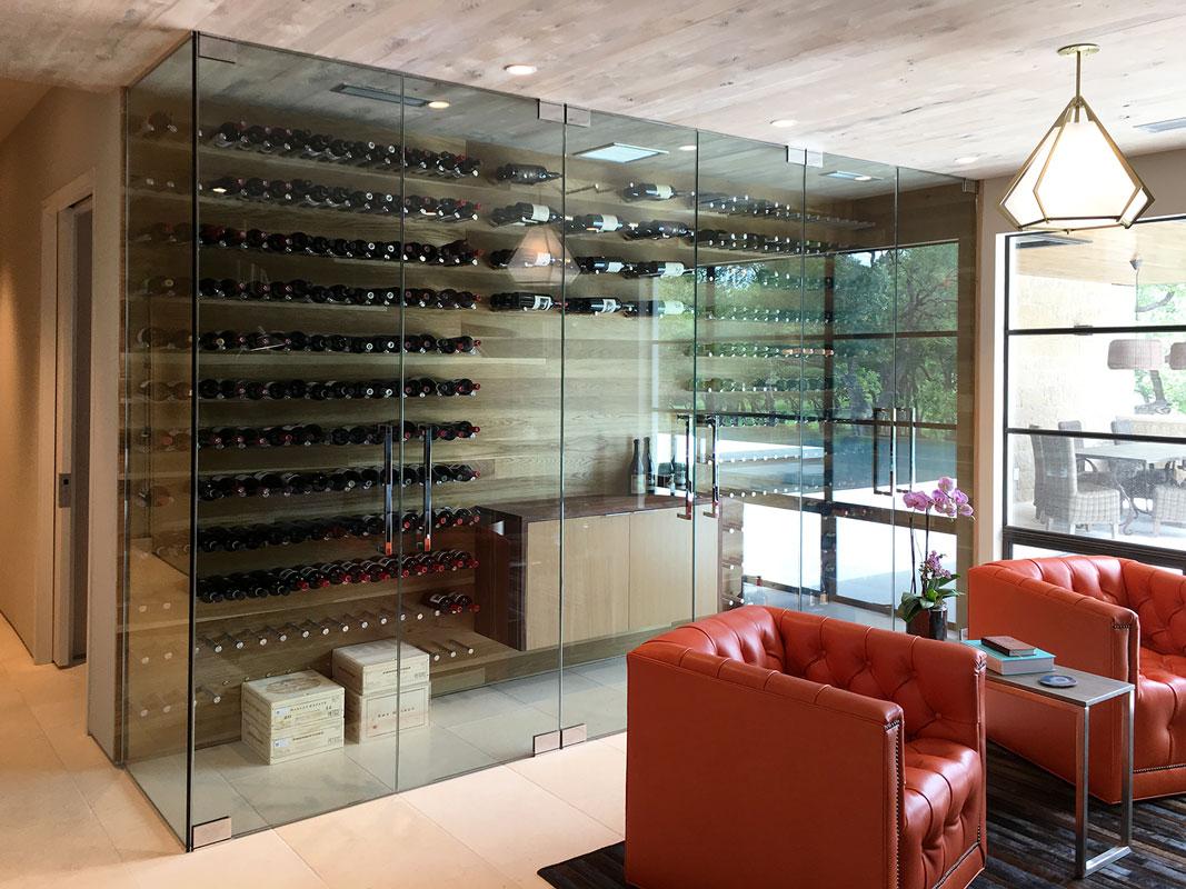 Glass Wine Room Enclosure