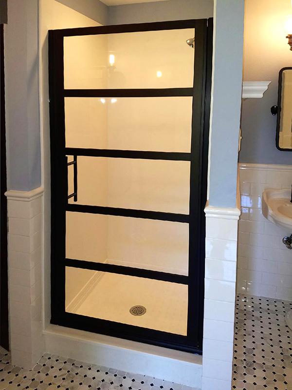 Custom Gridscape Shower Door