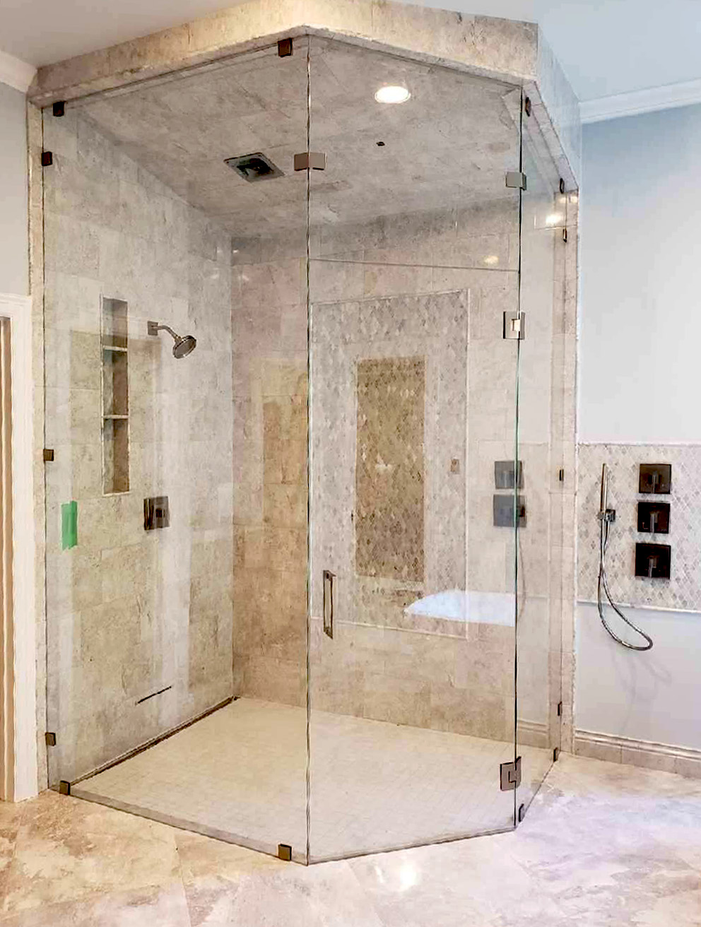 Neo Angle Steam Shower