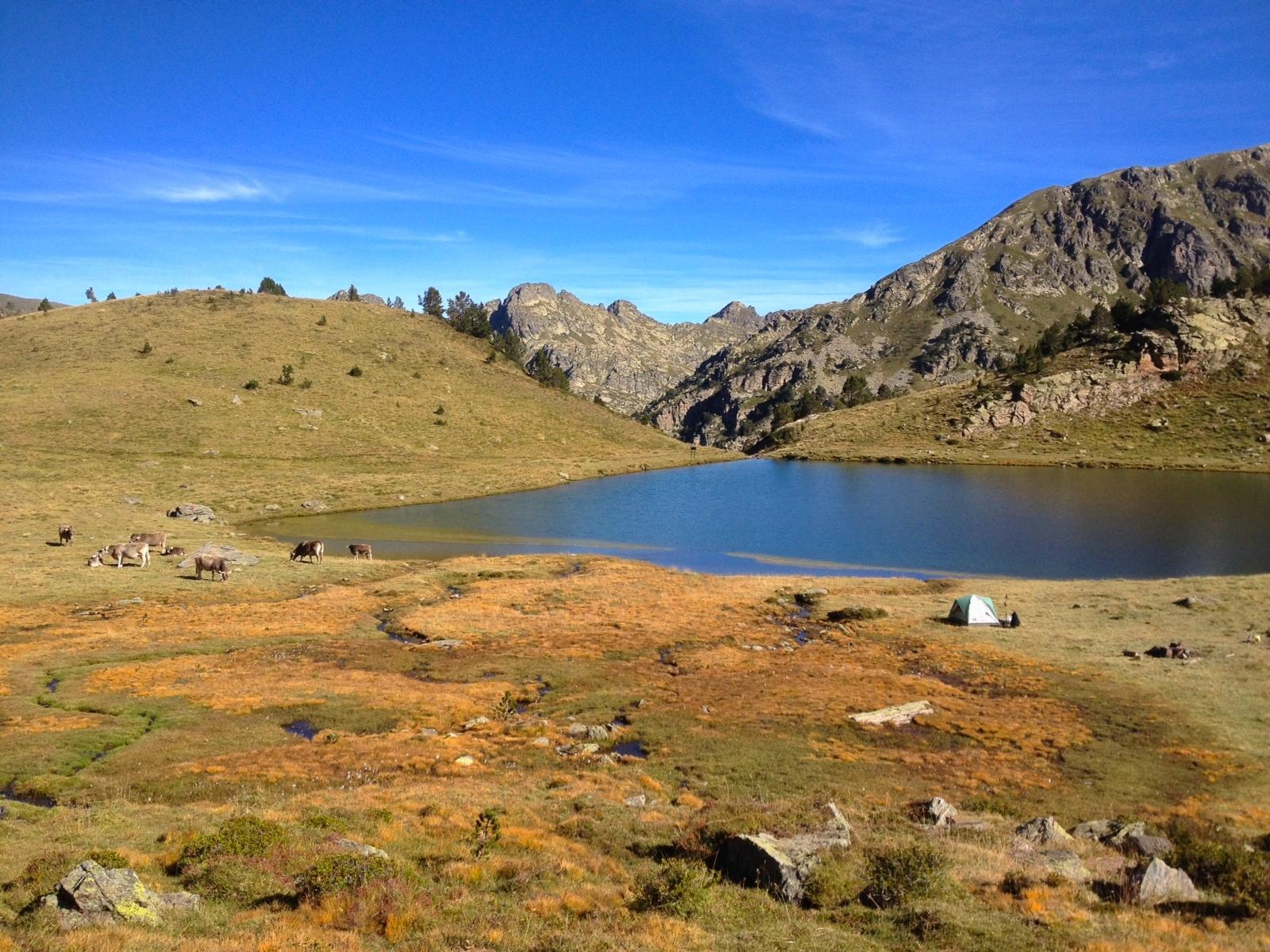 campsite, Andorra