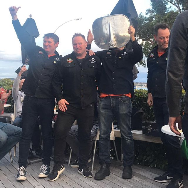And the winners are ....🥁🥁... Flying Cock Racing! Well done boys! 🏆🥇