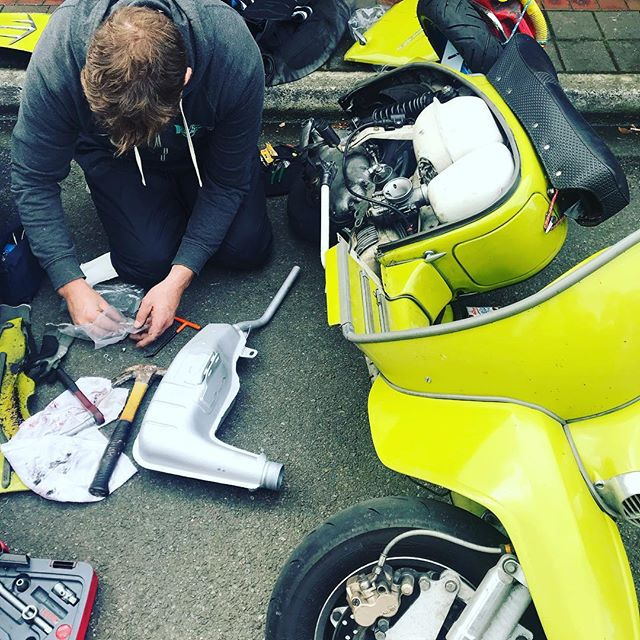 Roadside recovery motoretta styles