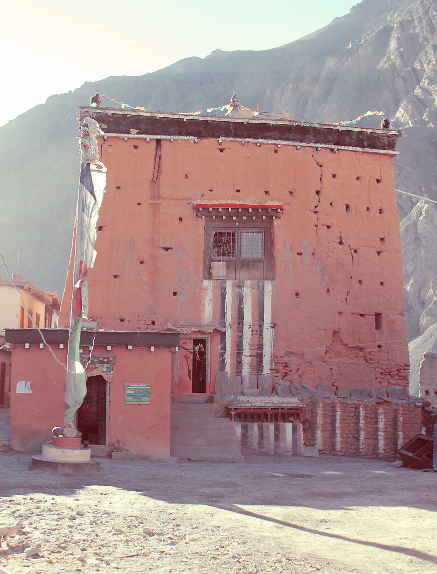 Kag Chode Thupten Samphel Ling monastery. Photograph   ©  Claire Orrell 2014