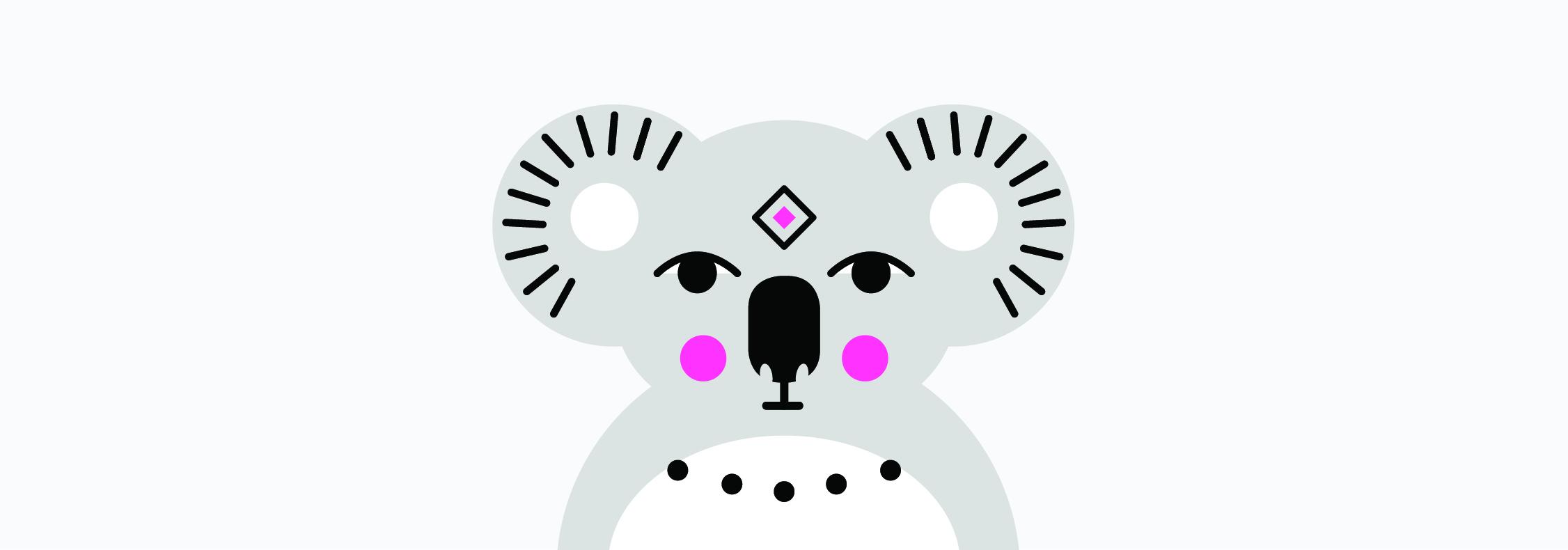 Totemica_Australian_Animal_Koala_Awake