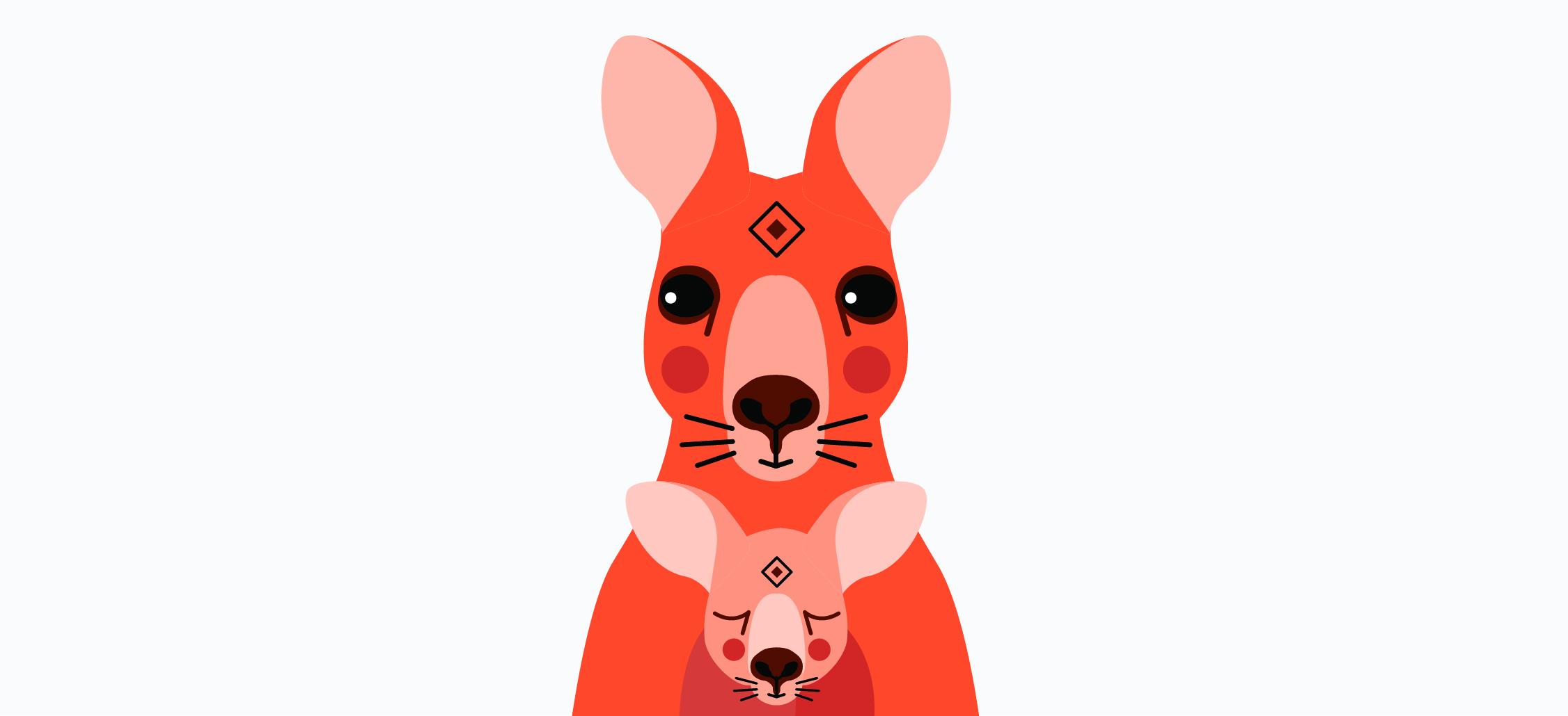 Totemica_Australian_Animal_Kangaroo