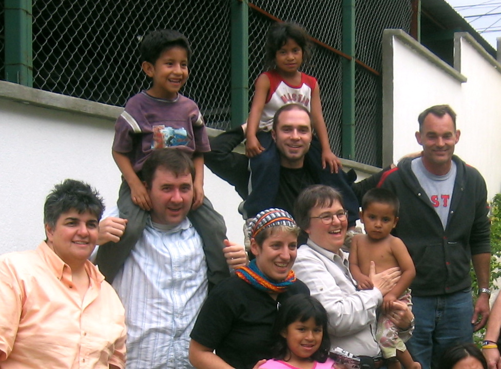 RWF volunteers at Project Safe Passage in Guatemala City, Guatemala.