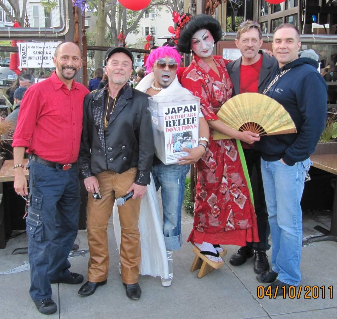 RWF Japan earthquake-tsunami fund raiser in San Francisco, CA.