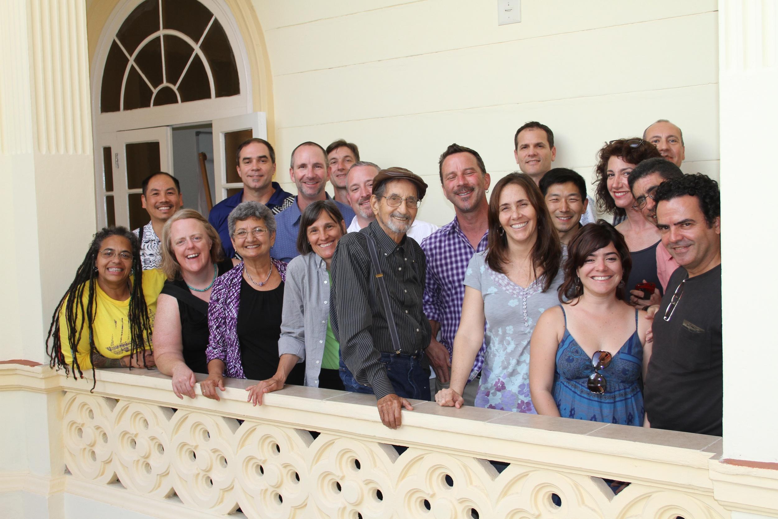 RWF volunteers with Mariela Castro at CENESEX in Havana, Cuba.