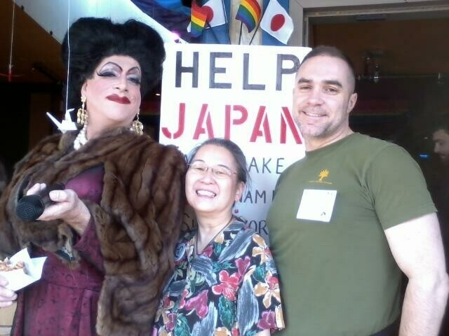 Raising funds to help the earthquake-tsunami survivors in Japan.