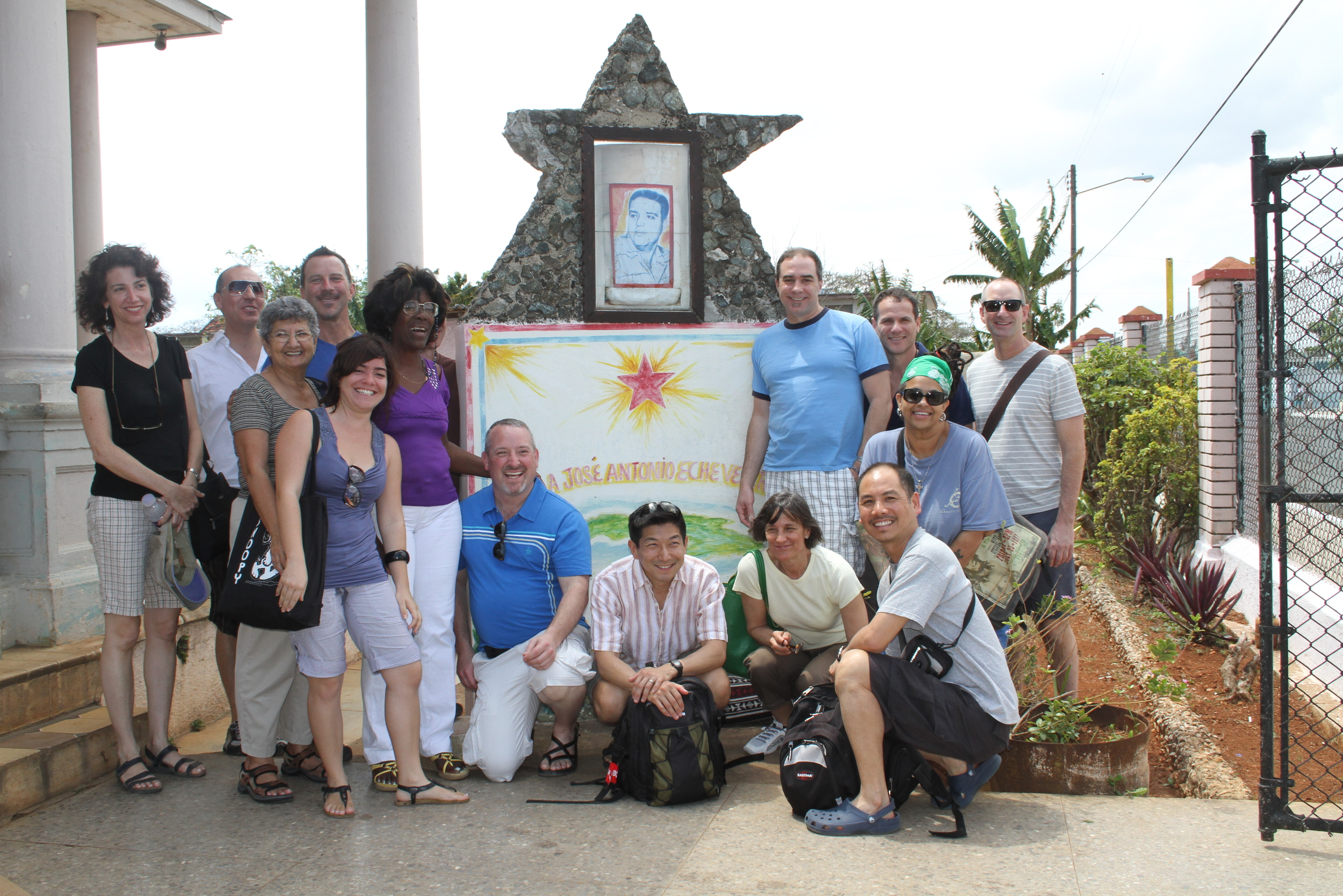 RWF volunteers visiting a school in Matanzas (2013)
