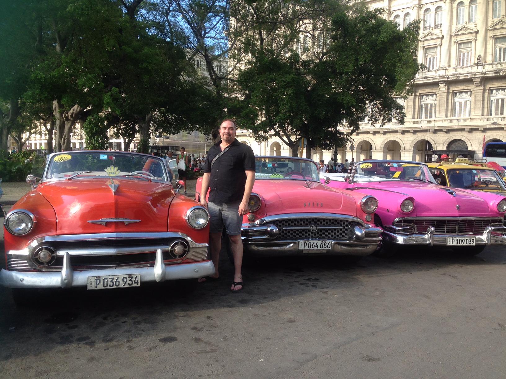RWF Founder Jeff Cotter in Havana