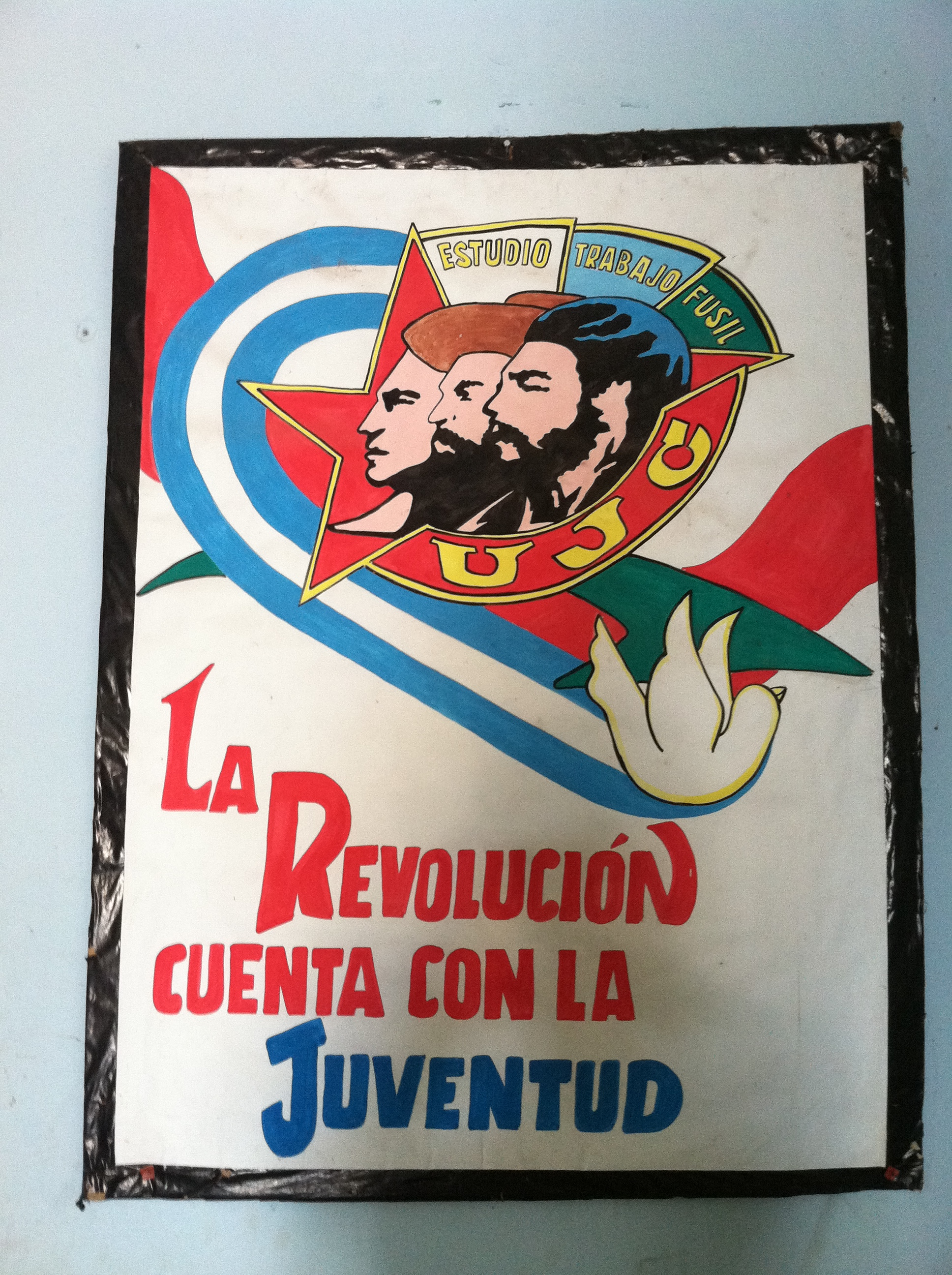 Viva La Revolucion - Long live the Revolution poster.