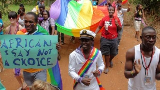 The LGBTQ celebrating Pride in Uganda   (pic)