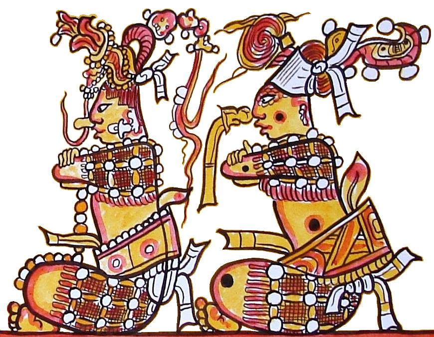 The Hero Twins from the Popol Vuh - a cultural narrative that recounts the mythology and history of the K'iche' people who inhabit the Guatemalan Highlands.