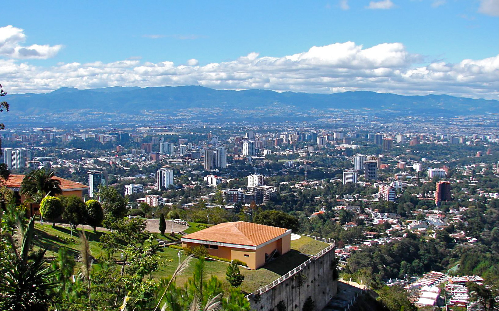 Guatemala City viewed from the Carretera a El Salvador neighborhood.