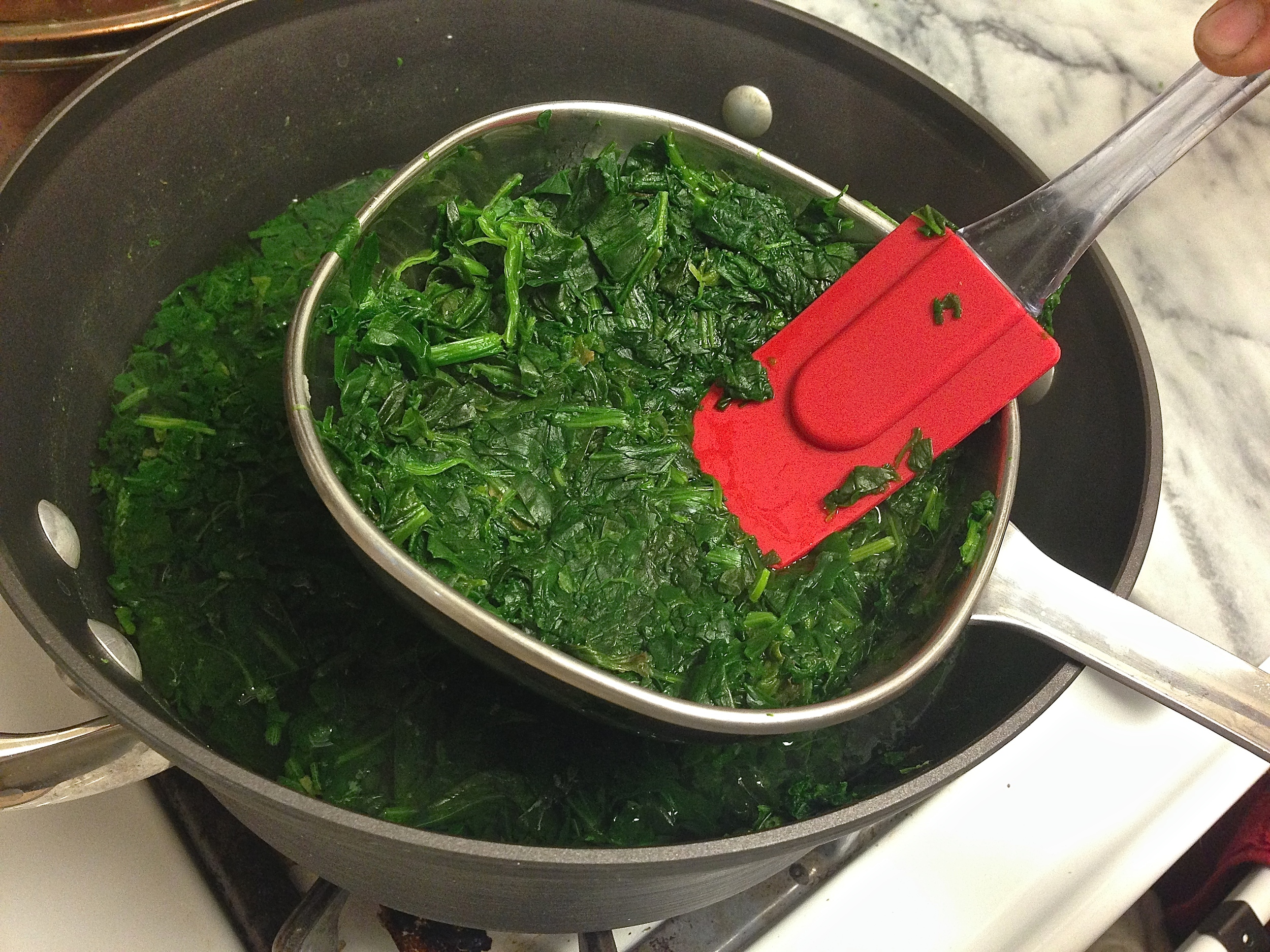 Spinach & Feta Quiche | Kneading Home