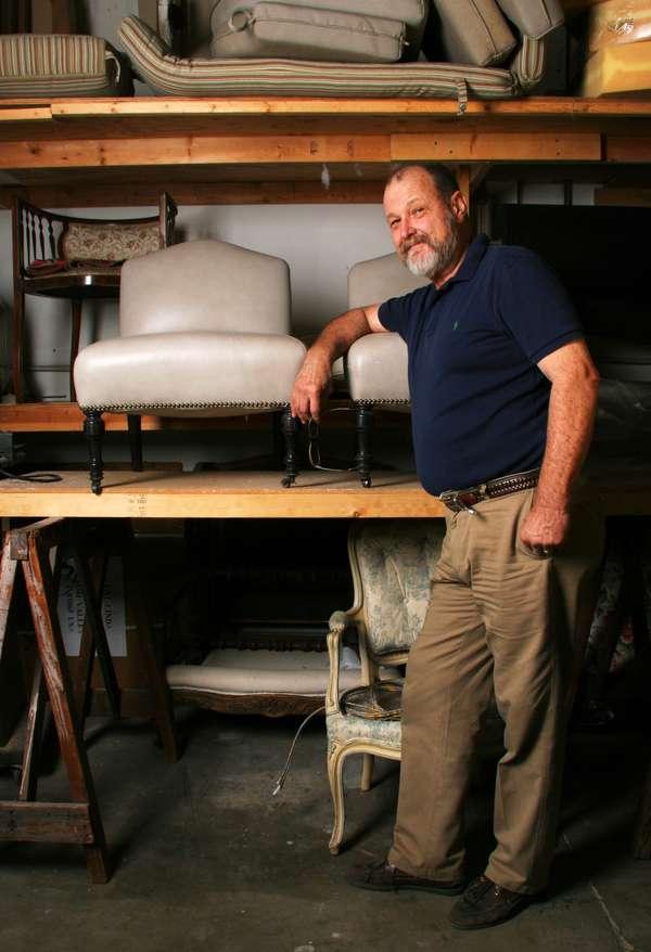 Alexander Müller in the workshop.