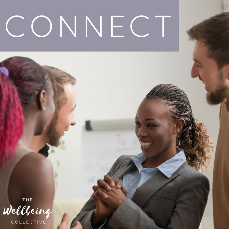 Worker wellness connection at work