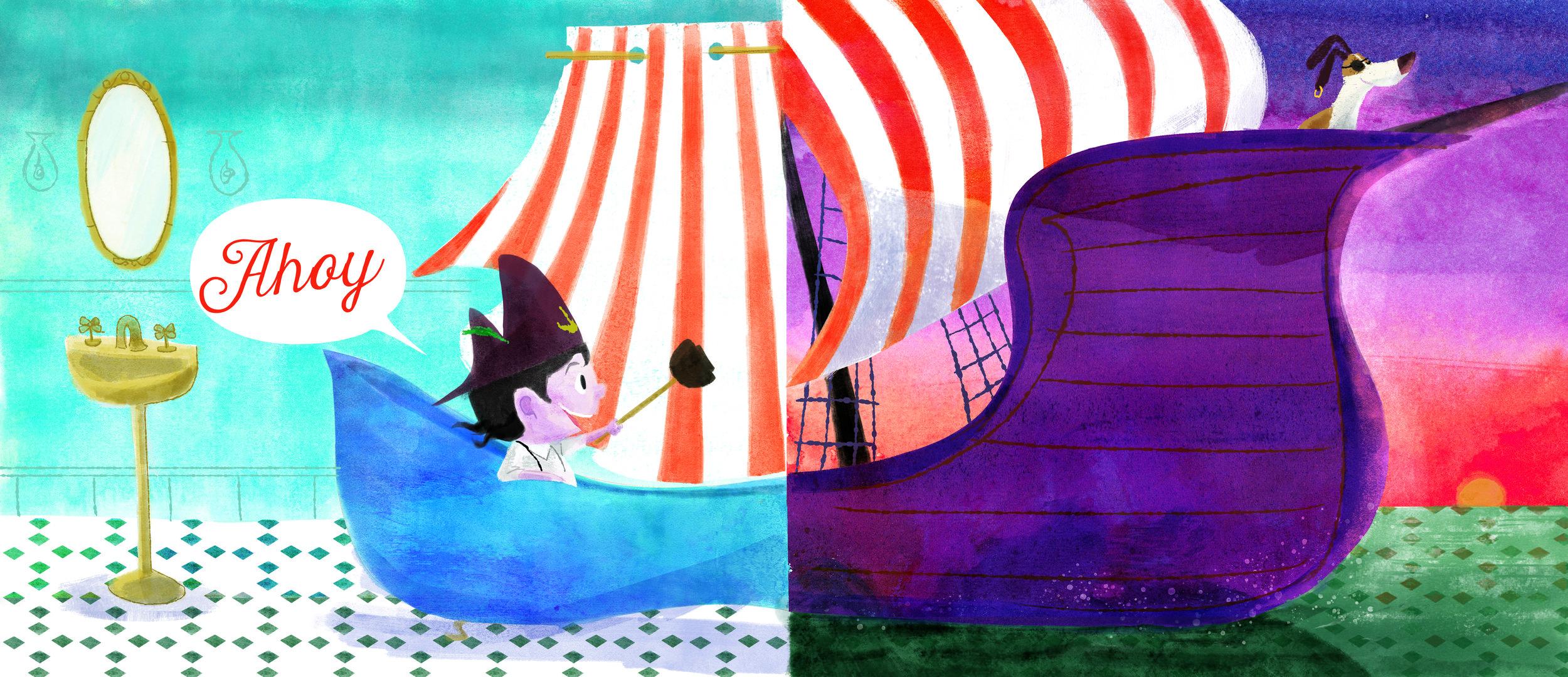 Pirate Tub