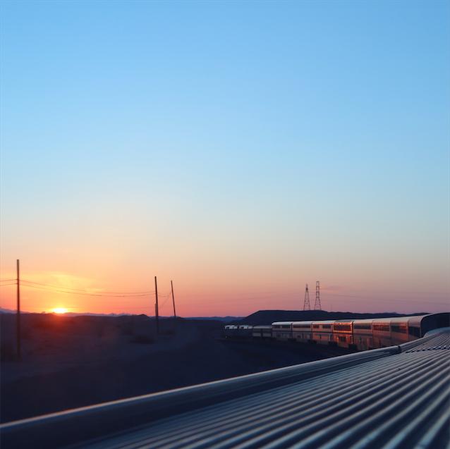 Sunrise somewhere in Arizona