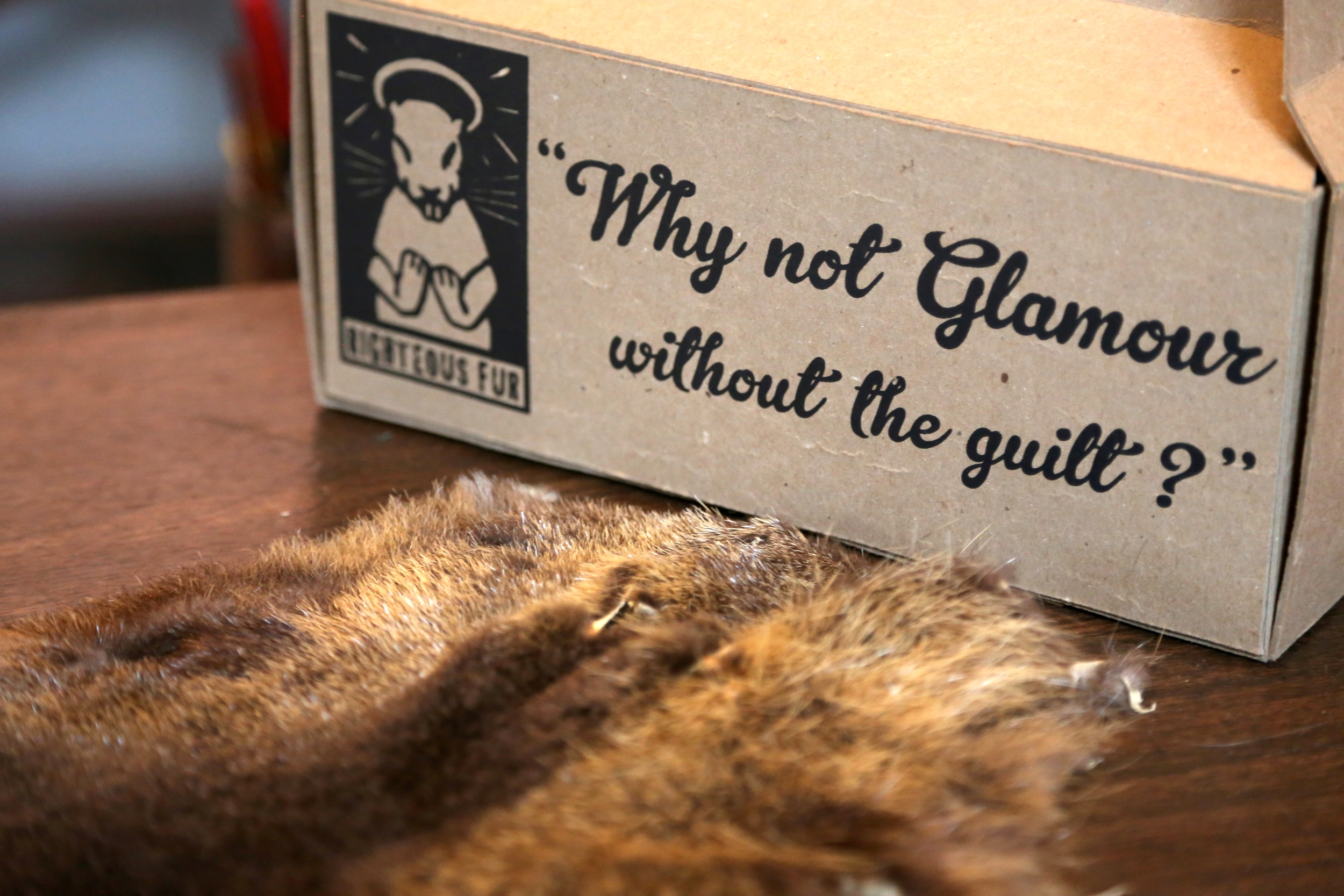 Righteous Furaims to market nutria fur as a sustainable alternative to other fur products made from native U.S. species, such as mink.