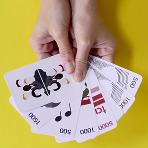 Business playing card