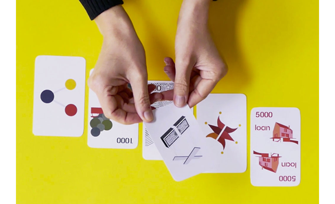 Collaborative playing card